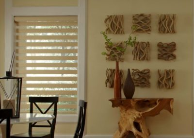 Cream Vision Day and Night Blinds