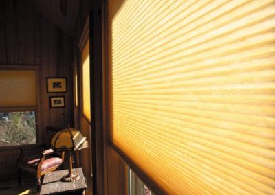 Solid Colour Pleated Blinds
