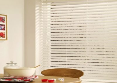 Pure White Expressions Wooden Venetian Blinds
